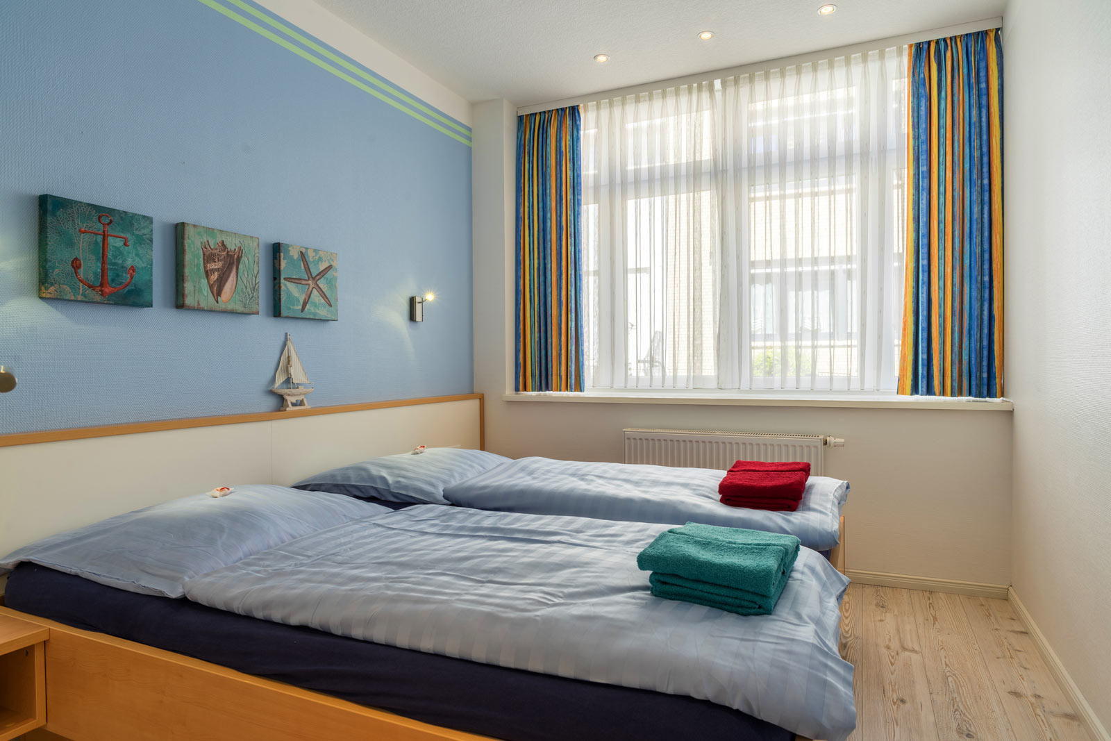 2-Bett-Schlafzimmer Apartment Sonnendeck