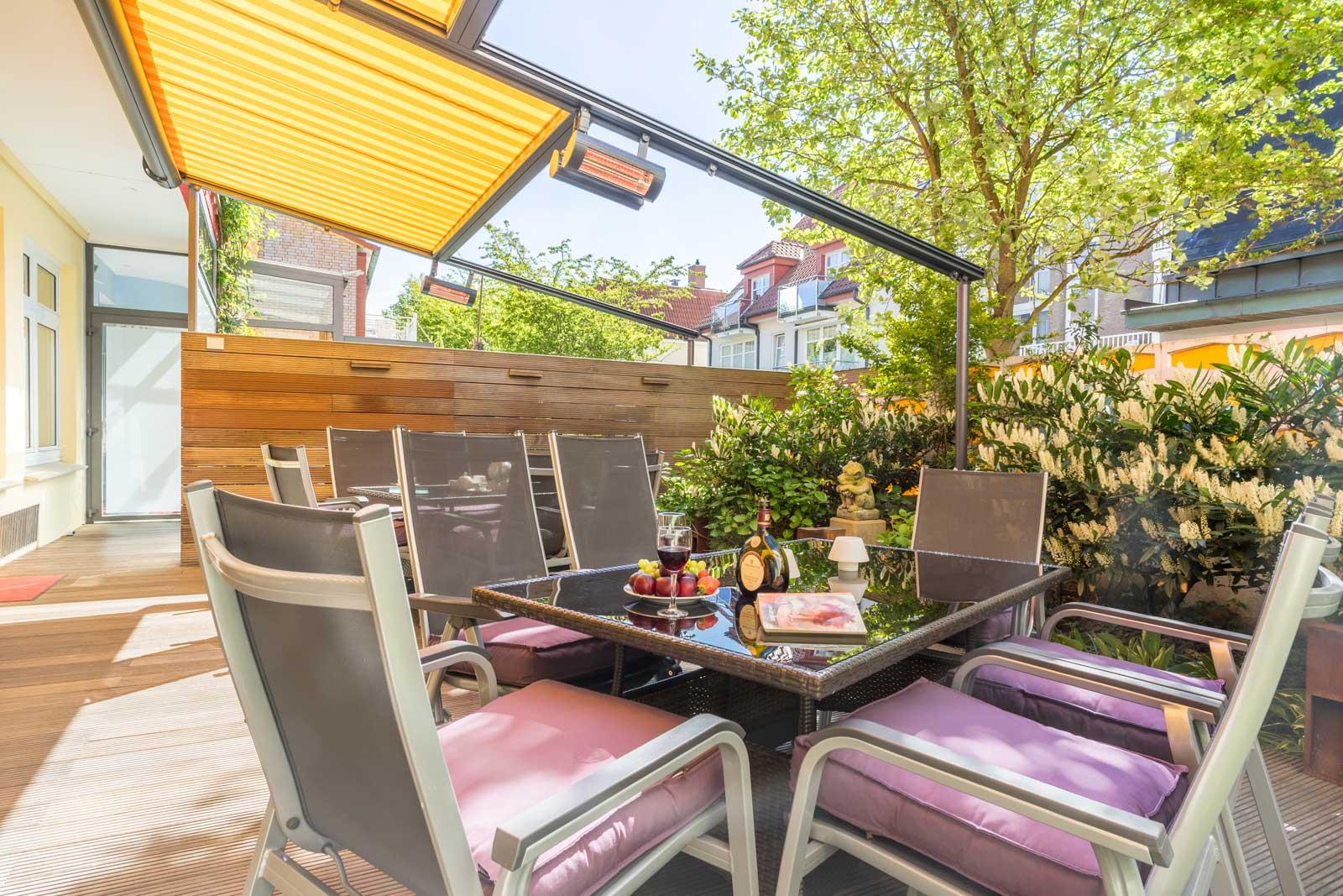 Terrasse Apartment Achterdeck