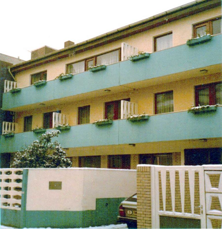 Frontansicht Elite Appartements circa 1969