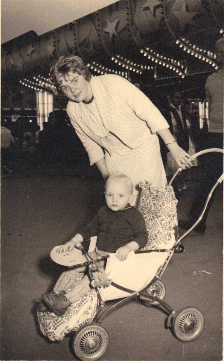 Heidi Meinders und Benno Strauch circa 1960