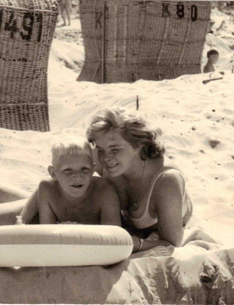 Heidi Meinders und Benno Strauch circa 1965