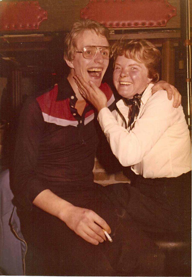 Heidi Meinders und Benno Strauch circa 1975